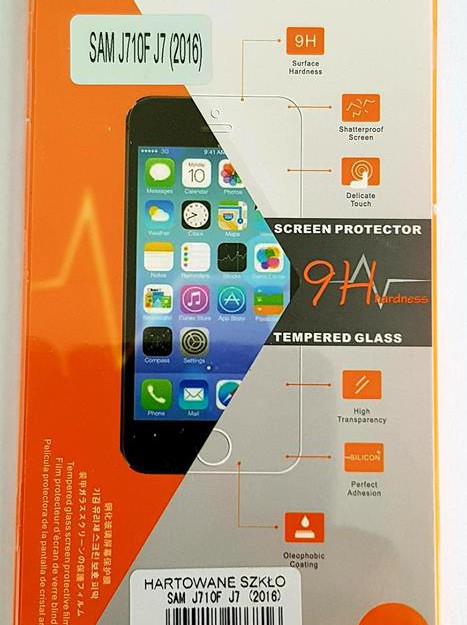 Samsung J7 2016 Full Tempered Glass